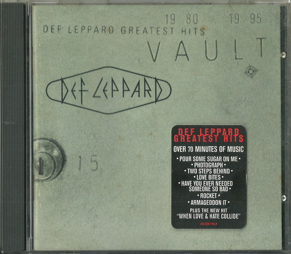 Def Leppard - Greatest Hits: Vault 1980-1995 (CD Usagé)