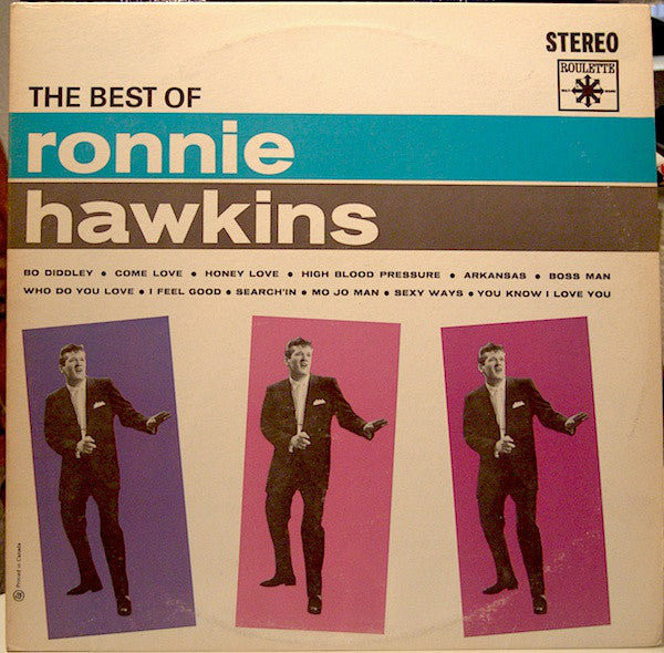 Ronnie Hawkins - The Best of Ronnie Hawkins (Vinyle Usagé)