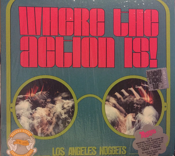 Various - Where The Action Is: Los Angeles Nuggets Highlights (Vinyle Neuf)