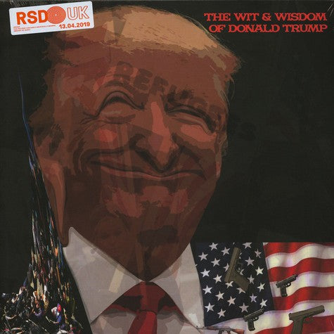 Donald Trump - The Wit And Wisdom Of Donald Trump (Vinyle Neuf)