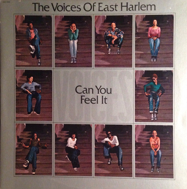 Voices Of East Harlem - Can You Feel It (Vinyle Neuf)