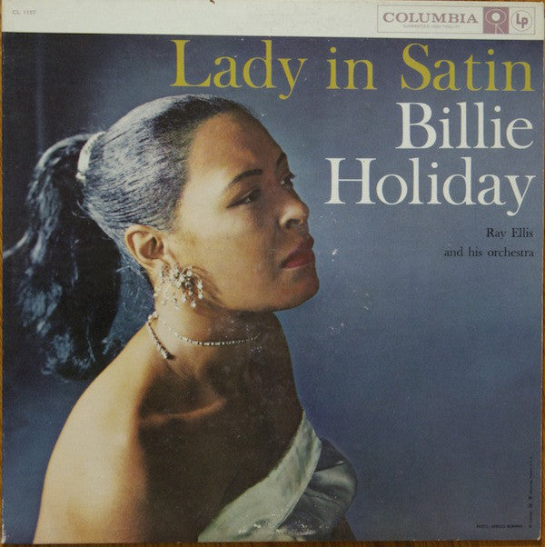 Billie Holiday - Lady In Satin (Vinyle Neuf)