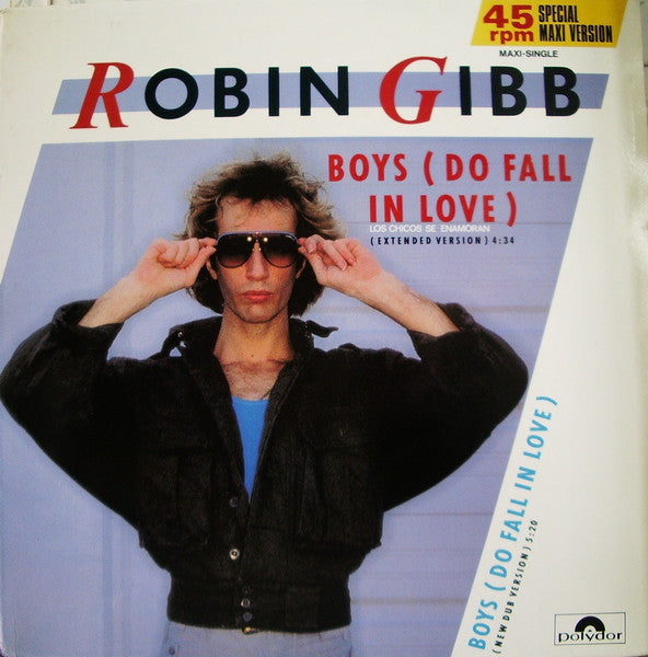 Robin Gibb - Boys (Do Fall in Love) (Vinyle Usagé)