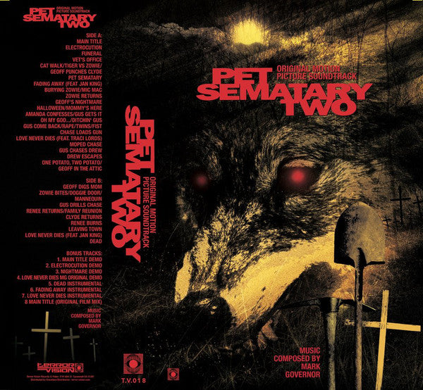 Soundtrack - Mark Governor: Pet Sematary Two (Vinyle Neuf)