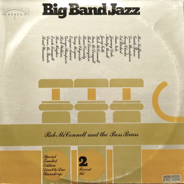 Rob McConnell and the Boss Brass - Big Band Jazz (Vinyle Usagé)