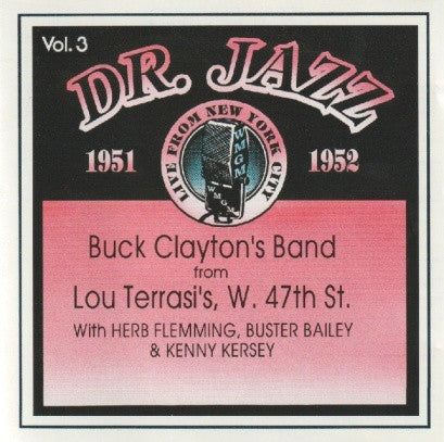 Buck Claytons - Dr Jazz Vol 3 1951-1952 (CD Usagé)
