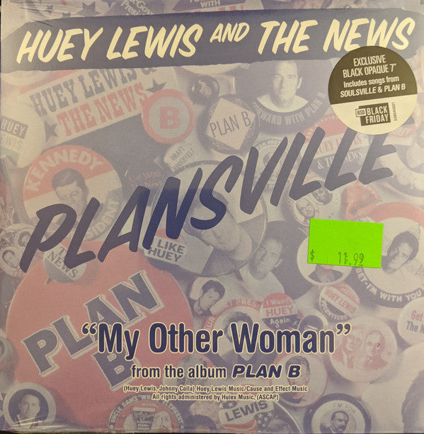 Huey Lewis And The News - Plansville (Vinyle Neuf)