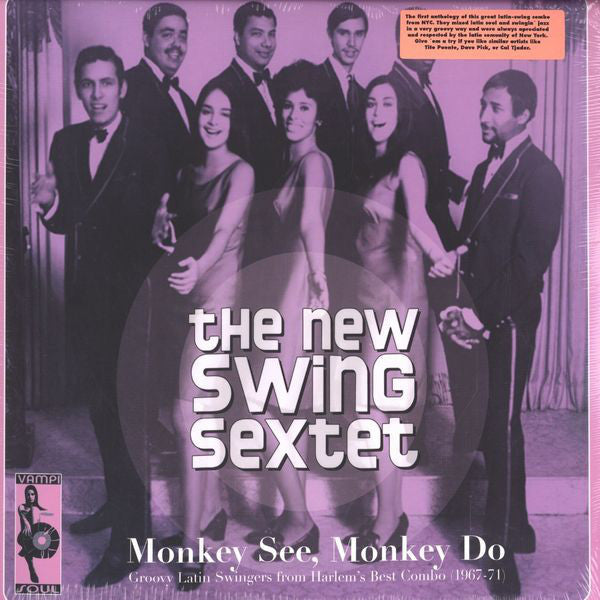 New Swing Sextet - Monkey See Monkey Do (Vinyle Neuf)