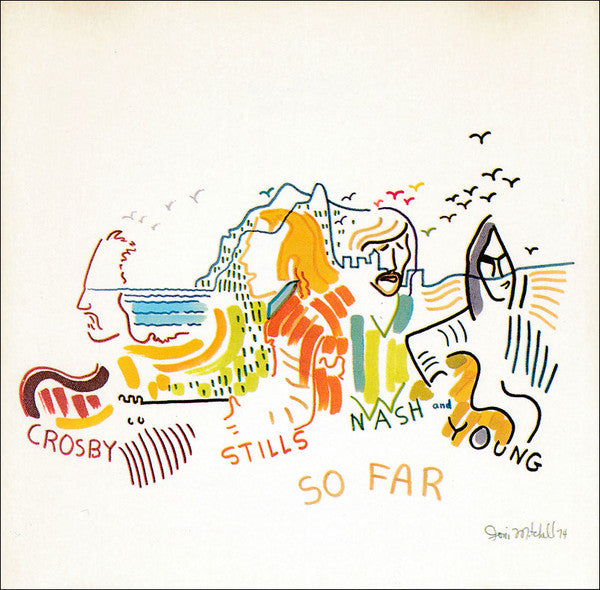 Crosby Stills Nash and Young - So Far (CD Usagé)