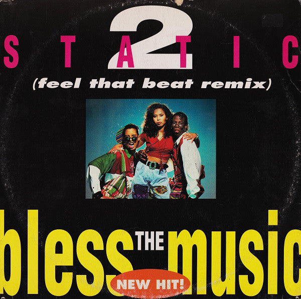 2 Static - Bless the Music (Vinyle Usagé)