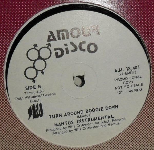 Mantus - Turn Around Boogie Down (Vinyle Usagé)