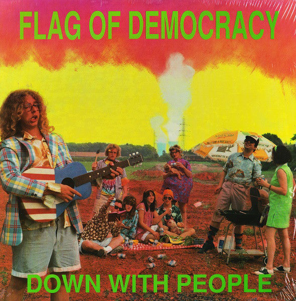 Flag Of Democracy - Down With People (Vinyle Neuf)