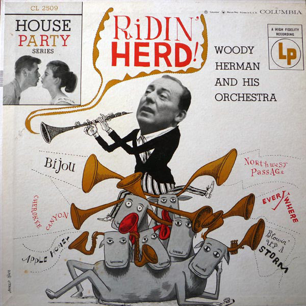 Woody Herman - Ridin Herd (Vinyle Usagé)