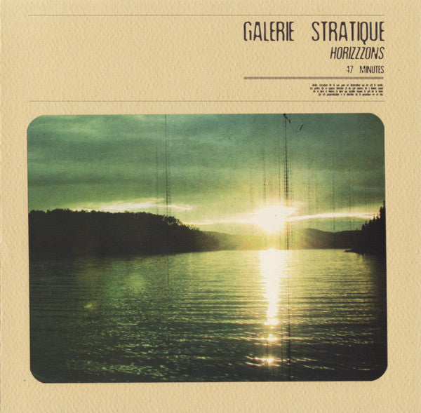 Galerie Stratique - Horizzzons (Vinyle Neuf)