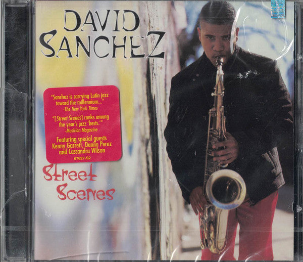 David Sanchez - Street Scenes (CD Usagé)