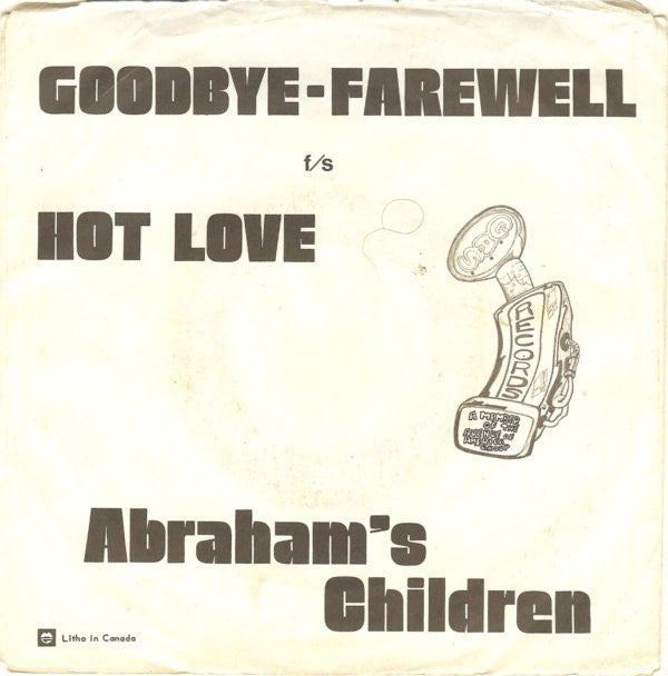 Abrahams Children - Goodbye-farewell (45-Tours Usagé)