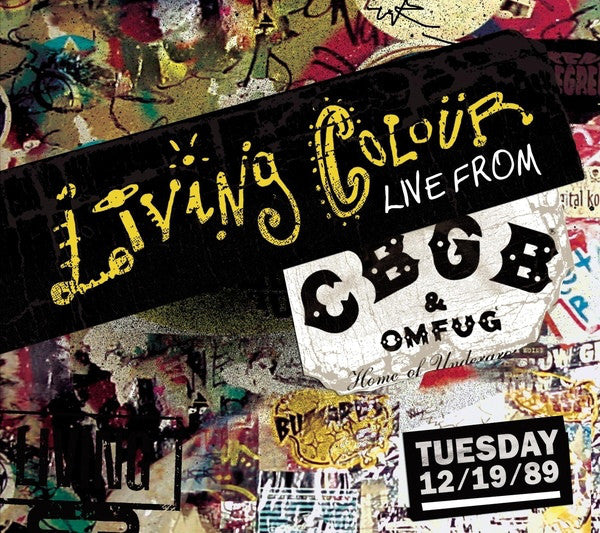 Living Colour - From The Vault: Live From CBGBs (Vinyle Neuf)