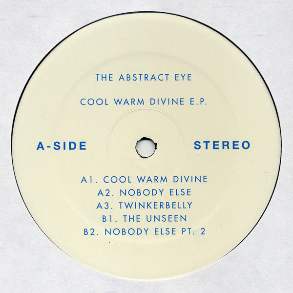 Abstract Eye - Cool Warm Divine EP (Vinyle Neuf)