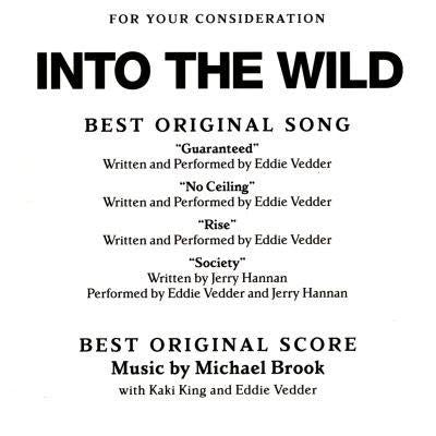 Soundtrack - Michael Brook: Into The Wild (Vinyle Neuf)