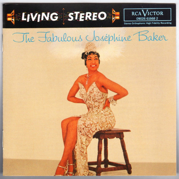 Josephine Baker - The Fabulous Josephine Baker (CD Usagé)