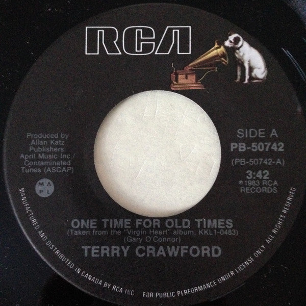 Terry Crawford - One Time For Old Times (45-Tours Usagé)