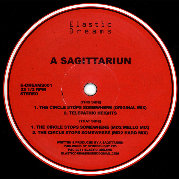 A Sagittariun - The Circle Stops Somewhere (Vinyle Neuf)