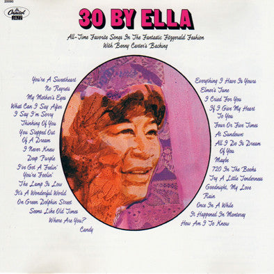 Ella Fitzgerald - 30 By Ella (CD Usagé)
