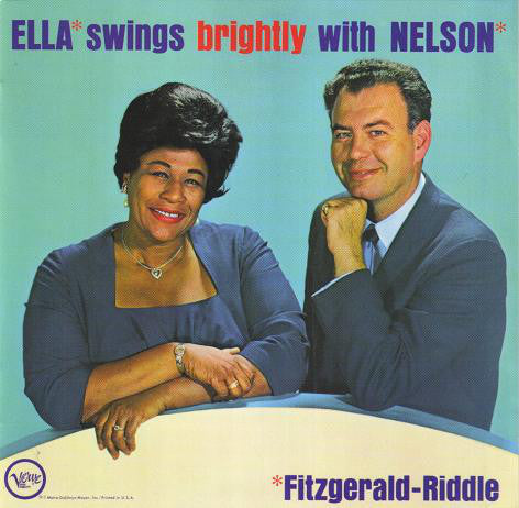 Ella Fitzgerald - Ella Swings Brightly with Nelson (CD Usagé)