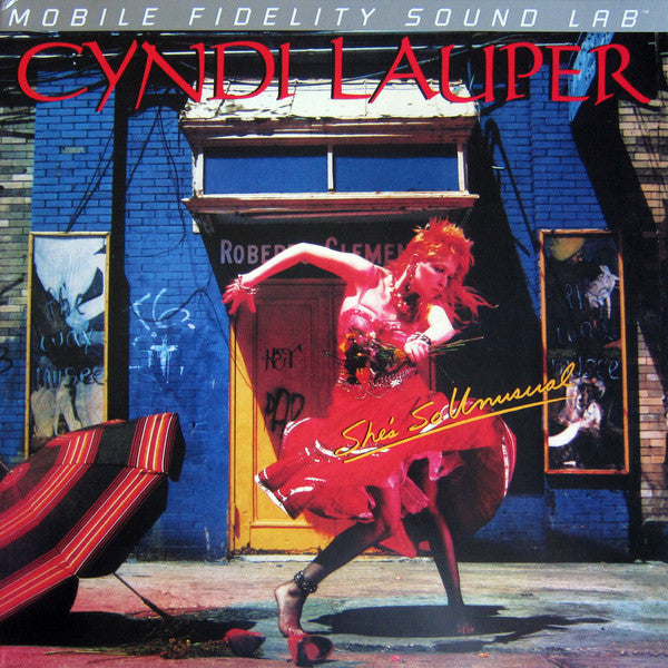 Cyndi Lauper - Shes So Unusual (MOFI) (Vinyle Neuf)