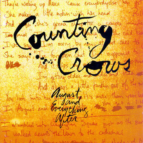 Counting Crows - August And Everything After (CD Usagé)