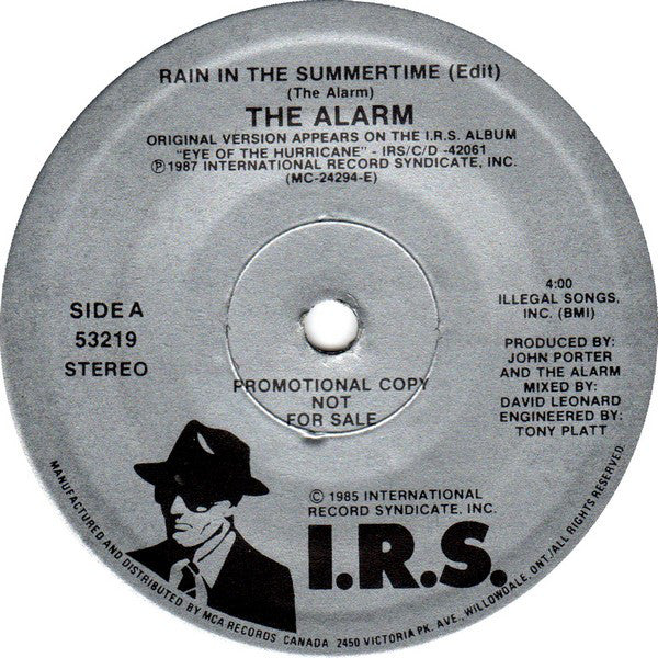 The Alarm - Rain In The Summertime (45-Tours Usagé)