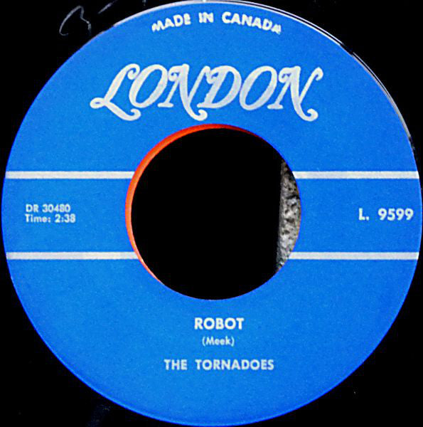 The Tornados - Robot (45-Tours Usagé)