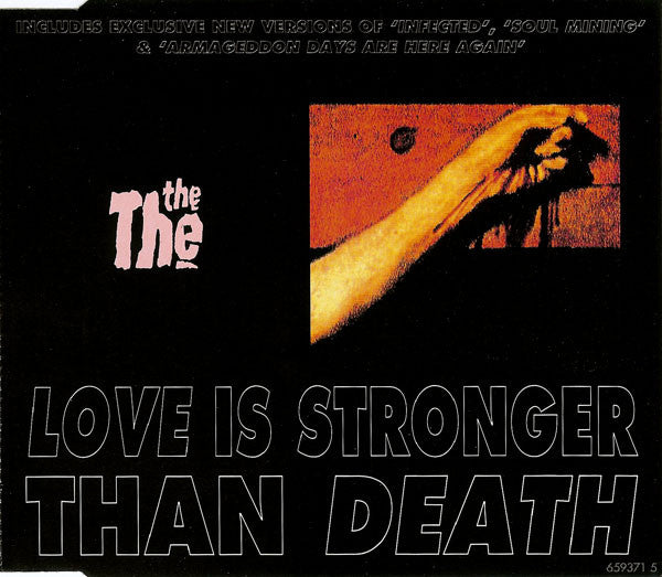 The The - Love Is Stronger Than Death (CD Usagé)