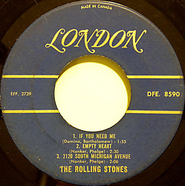 The Rolling Stones - Five By Five (45-Tours Usagé)