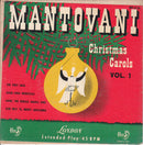 Mantovani And His Orchestra - Christmas Carols Vol 1 (45-Tours Usagé)