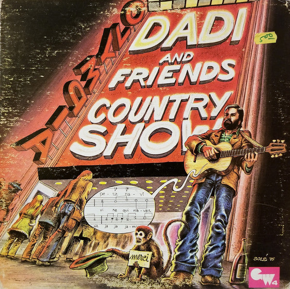 Marcel Dadi - Dadi and Friends: Country Show (Vinyle Usagé)