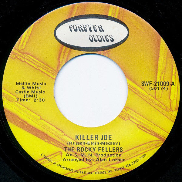 The Rocky Fellers - Killer Joe / Monkey See Monkey Do (45-Tours Usagé)