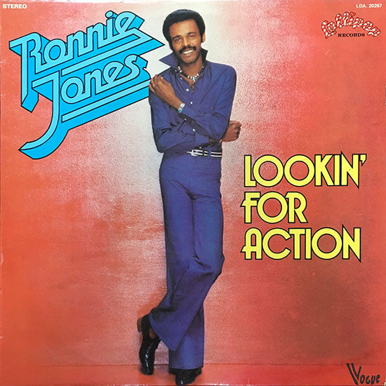 Ronnie Jones - Lookin For Action (Vinyle Usagé)