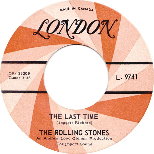 The Rolling Stones - The Last Time (45-Tours Usagé)