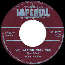 Ricky Nelson (2) - You Are The Only One / Milk Cow Blues (45-Tours Usagé)