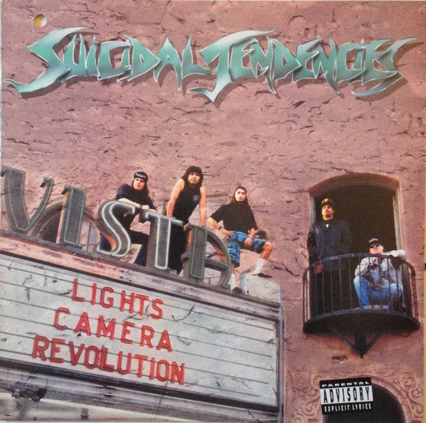 Suicidal Tendencies - Lights Camera Revolution (Vinyle Neuf)