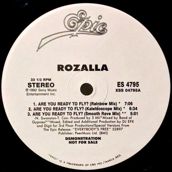 Rozalla - Are You Ready to Fly (Vinyle Usagé)