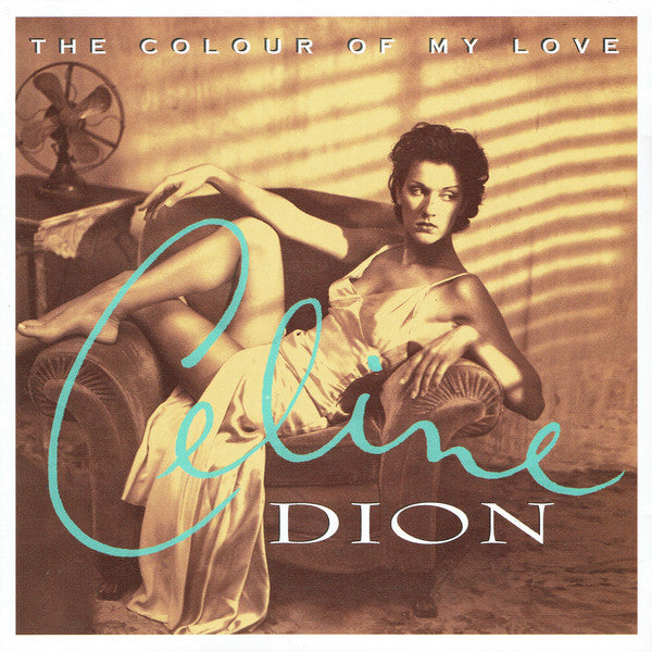 Celine Dion - The Colour Of My Love (CD Usagé)