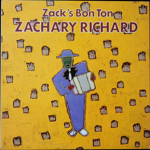 Zachary Richard - Zacks Bon Ton (Vinyle Usagé)