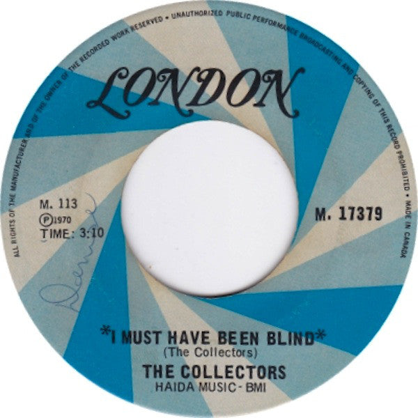 The Collectors (4) - I Must Have Been Blind (45-Tours Usagé)