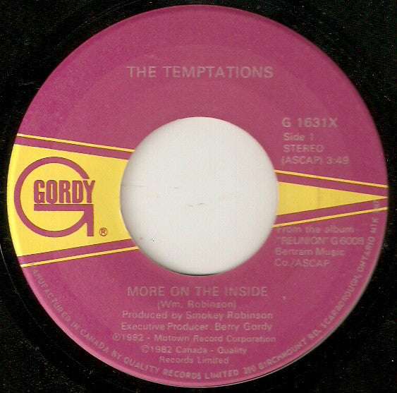 The Temptations - More On The Inside (45-Tours Usagé)