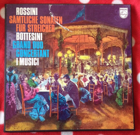 Rossini / Bottesini / I Musici - String Sonatas / Grand Duo Concertant (Vinyle Usagé)