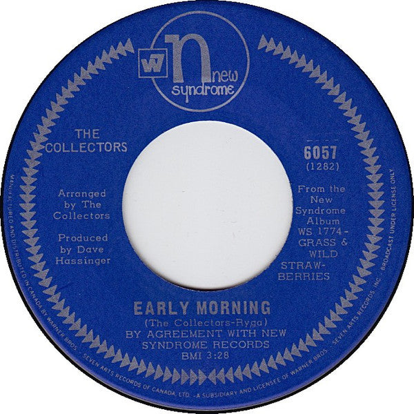 The Collectors (4) - Early Morning / My Love Delights Me (45-Tours Usagé)