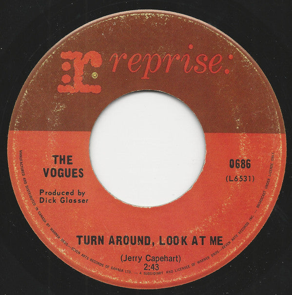The Vogues - Turn Around Look At Me / Then (45-Tours Usagé)