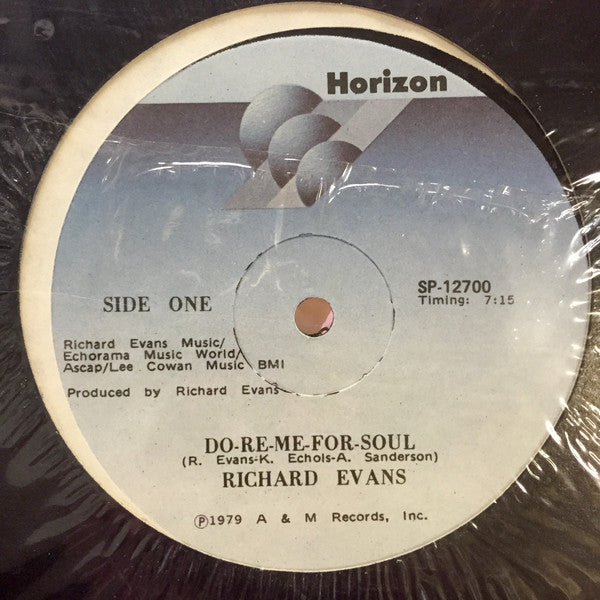 Richard Evans - Do Re Me For Soul (Vinyle Usagé)